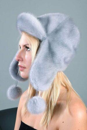 Норковая шапка
